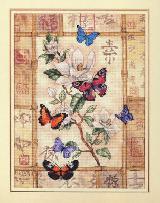 Набор для вышивания Торжество сверкающих бабочек