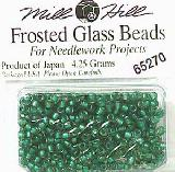 Бисер Mill Hill 65270 Frosted Bottle Green (матовый)
